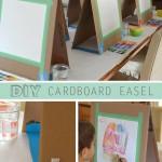 Cardboard Art Easel