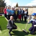 Burt opens Arbury pre-school